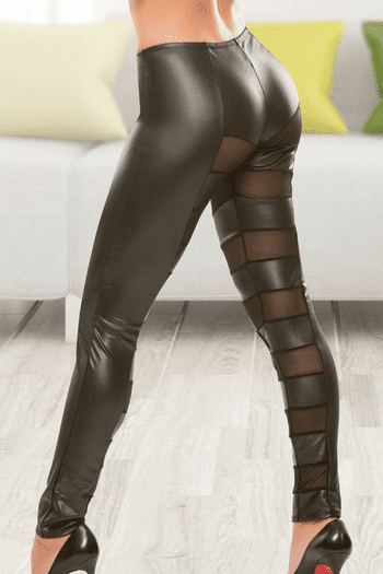 Wetlook Mesh Pants