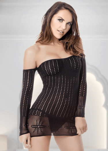 What A Girl Wants Long Sleeve Chemise
