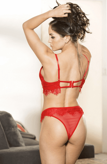 When Love Finds You Lace Bra & Panty Set