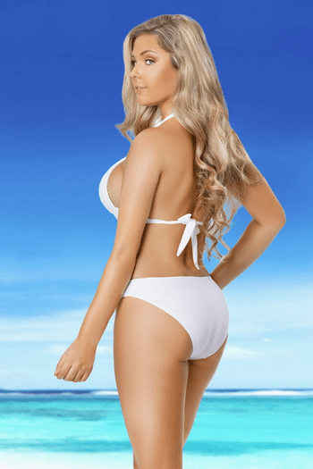 White Sands Cutout Monokini