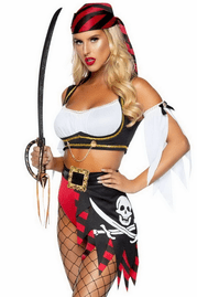 Wicked Pirate Wench Costume