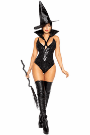 Black Wicked Witch Sexy Costume