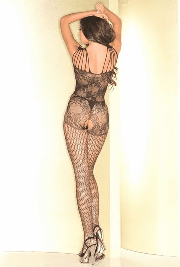 Wickedly Fun Open Crotch Bodystocking