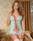 Wild Orchid Sexy Babydoll & Panty Set