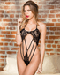 Wild Stretch Lace Strappy Teddy