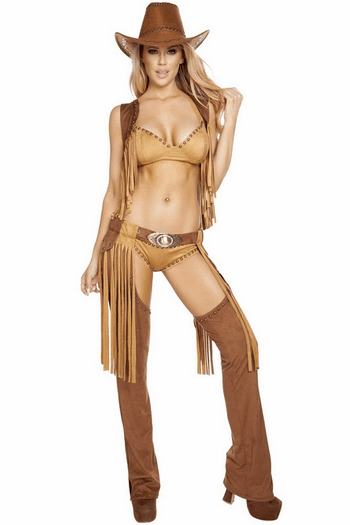 Wild Western Temptress Sexy Cowgirl Costume