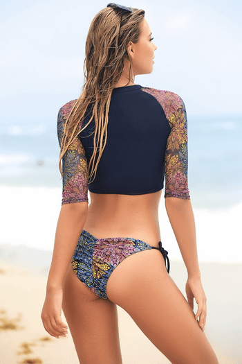 Wildflower Three Piece Swimsuit