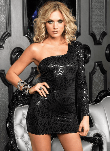 Wonderous Beauty Sequin Dress
