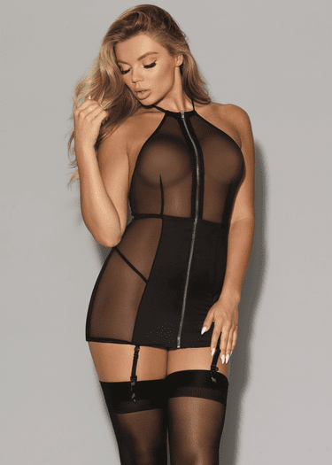 You Matter To Me Gartered Chemise