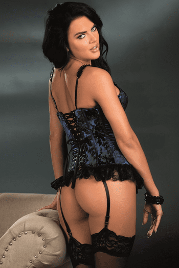 You're All I Have Corset & G-String Set