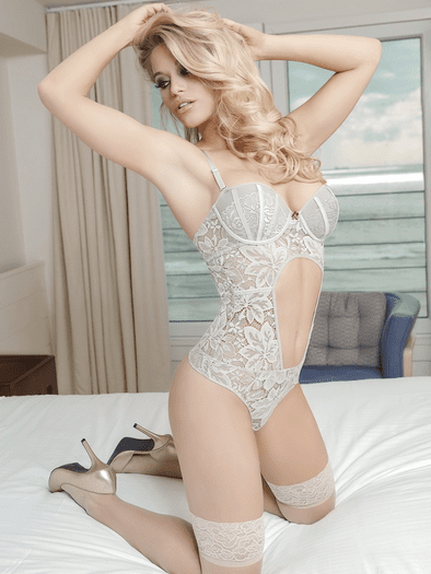 Your Dirty Secret Lace Teddy