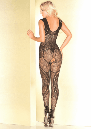 Yours Forever Crotchless Bodystocking