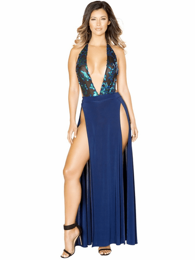 Yours Truly Bodysuit & Skirt Set