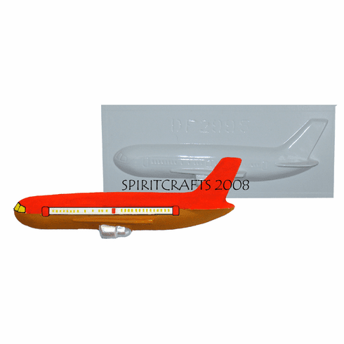 "737 AIRPLANE PLASTER CRAFT MOLD (8.25"" x 2.75"")"