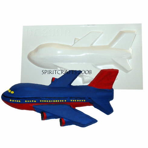 "747 AIRPLANE PLASTER CASTING MOLD (7"" x 3.5"")"