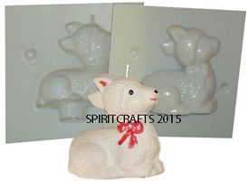 ANIMAL CANDLE <br> MOLDS
