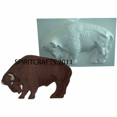 "BUFFALO / BISON PLASTER CASTING MOLD (14"" x 8.5"")"