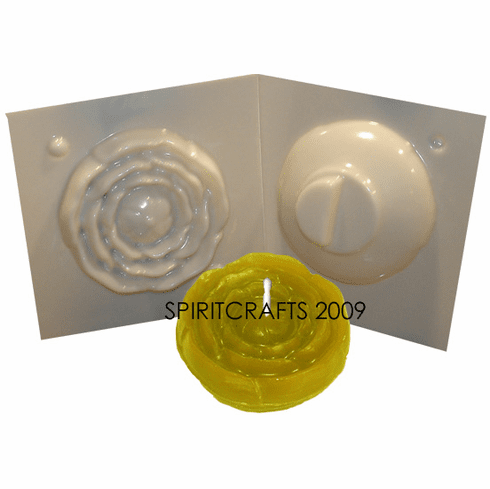 """BUTTERCUP FLOATER CANDLE MOLD (3"""" x 1.5"""", 4 oz)"""