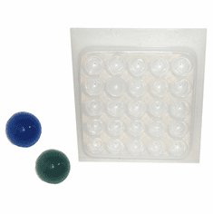 CABACHON RESIN JEWELRY MOLD, 25 WELL
