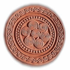"CELTIC ROUND STEPPING STONE MOLD (16"" DIA)"