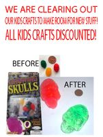 <FONT COLOR=RED>CLEARANCE!  </FONT>KIDS CRAFTS