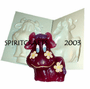 "COW WITH FLOWERS <BR>CANDLE MOLD<BR> (6.25"" HT, 1 lb 2 oz)"