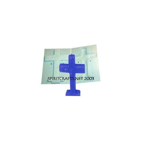 "CROSS CANDLE MAKING MOLD (9.75"" HT, 1 lb 5 oz)"