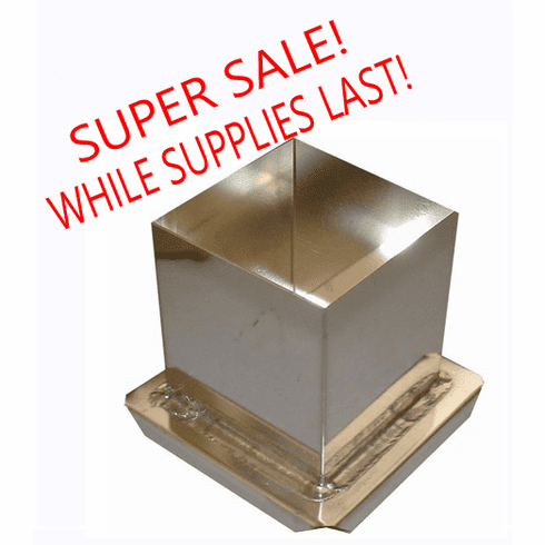 """CUBE CANDLE MOLD, 2"""" x 2"""" x 2"""""""