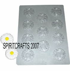 DAISY CRAFT EMBED OR CANDY MOLD, 11 WELL