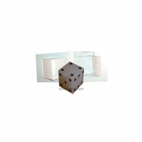 """DICE CANDLE MOLD (3"""" CUBE, 14 oz)"""
