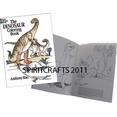 DINOSAUR COLORING BOOK (ALL AGES)
