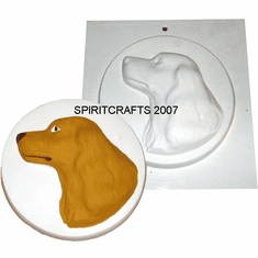 DOG AND CAT PLASTER MOLDS