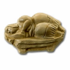 DREAMING PRIESTESS OF MALTA SOAP MOLD (3 WELL)
