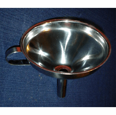EXTRA LARGE STAINLESS STEEL FUNNEL