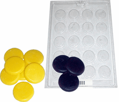 FRUIT / FOOD<br> CANDY / WAX EMBED<br> SOAP MOLDS