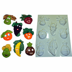 FRUIT VEGETABLE AND FOOD PLASTER MOLDS
