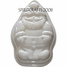 "FULL BODY SANTA CLAUSE CAKE PAN MOLD (7"" x 12"")"