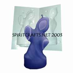 """GHOST CANDLE MAKING MOLD (5.5"""" HT, 6 oz)"""