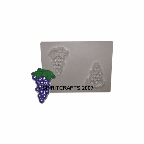 GRAPE BUNCH SOAP / CANDY MOLD (2 on 1)