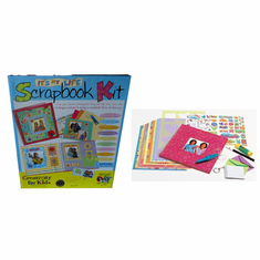ITS MY LIFE SCRAPBOOK KIDS CRAFT KIT (AGES 7+)