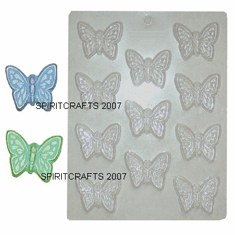 LARGE BUTTERYFLY EMBED MOLD, 11 WELL