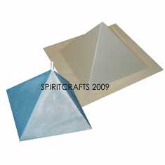 "LARGE PYRAMID CANDLE MOLD (1 PIECE, 3.5"" HT)"