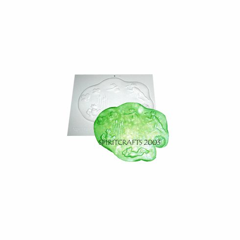 """LILLY PAD STEPPING STONE MOLD (15 1/2"""" x 13"""")"""
