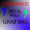 METAL CANDLE MOLD GRAB BAG, ONE MOLD