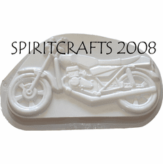 "MOTORCYCLE CAKE PAN MOLD (8"" x 14"")"