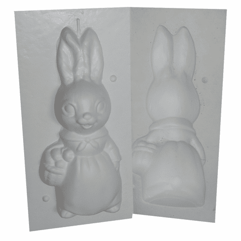 """MRS EASTER BUNNY CANDLE MAKING MOLD (10.5"""")"""