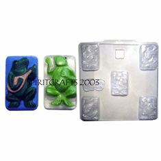 MUSICAL FROGS (TWO STYLES) SOAP MOLD
