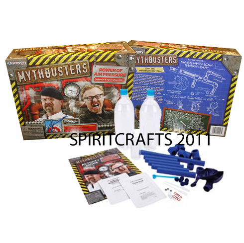 MYTHBUSTERS POWER OF AIR PRESSURE KIT (AGES 9+)