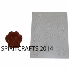 PAWPRINT CANDY / CHOCOLATE MOLD (11 WELL)