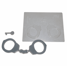 POLICE HANDCUFFS CANDY / CHOCOLATE MOLD